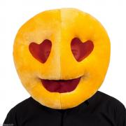 Smiley amoureux mascot