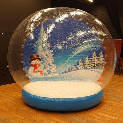 Boule de neige geante