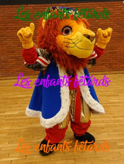 Lion haute qualite les enfants fetards