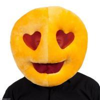 Smiley amoureux mascot