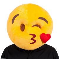 Smiley coeur mascot