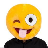 Smiley langue mascot
