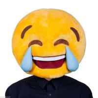 Smiley pleure mascot